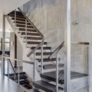 Newton, MA Staircase